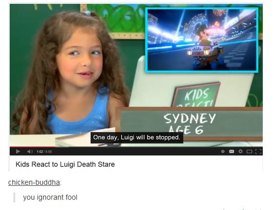 "Unstoppable. . Ghett SYDNEY ME G Lug will stunned Kids React to Luigi Death Stare b"" liea lla ignorant 'ifi% Unstoppable Ghett SYDNEY ME G Lug will stunned Kids React to Luigi Death Stare b"" liea lla ignorant 'ifi%"