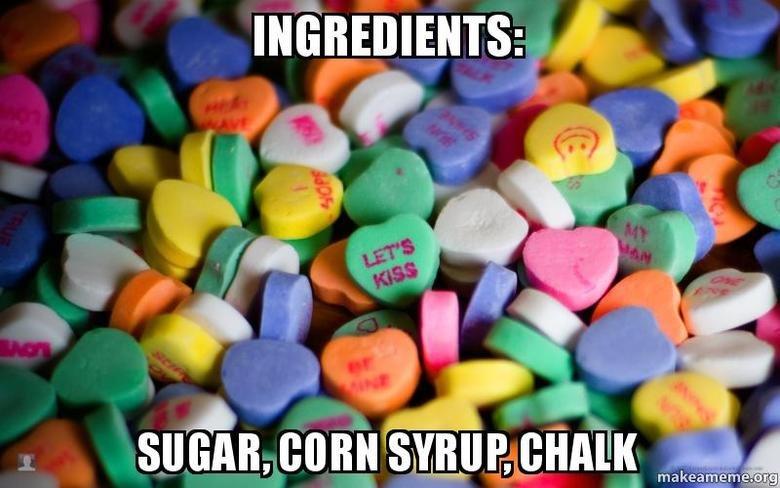 (untitled). .. INB4 Sugar, Corn Syrup, Corn Starch, Gelatin, Modified Food Starch, Natural and Artificial Flavors, Vegetable Gums (Gum Aracbic & Xantahn) Artificial Colors (untitled) INB4 Sugar Corn Syrup Starch Gelatin Modified Food Natural and Artificial Flavors Vegetable Gums (Gum Aracbic & Xantahn) Colors