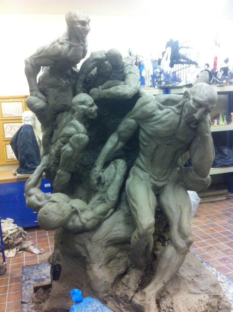 Update on Lucifer Sculpture!. Link to original post: /funny_pictures/4410812/Sculpture+I+m.... Update on Lucifer Sculpture! Link to original post: /funny_pictures/4410812/Sculpture+I+m