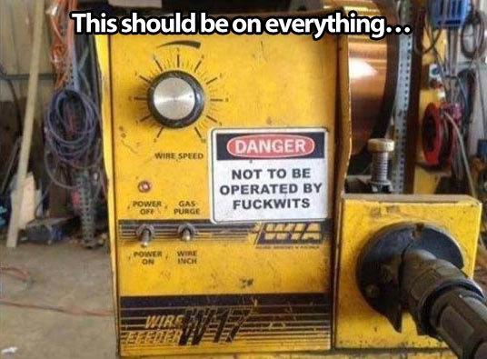 Useful warning message... Useful warning message.. . HUT TD Ala.  funny
