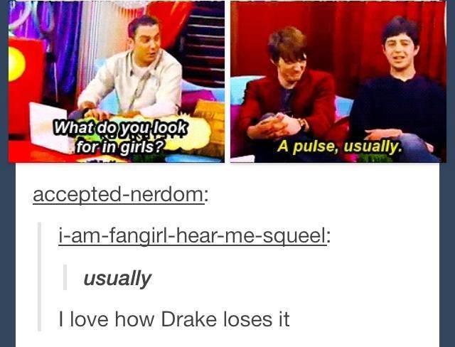 Usually. . A pulse. usually I love how Drake loses it Usually A pulse usually I love how Drake loses it