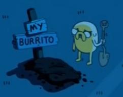 yfw you drop dinner. but only if you have burritos. burritos