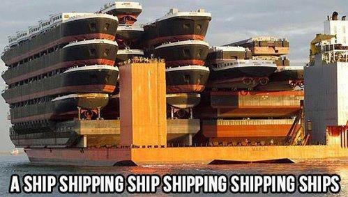 Yo dawg. . Big ASS boats