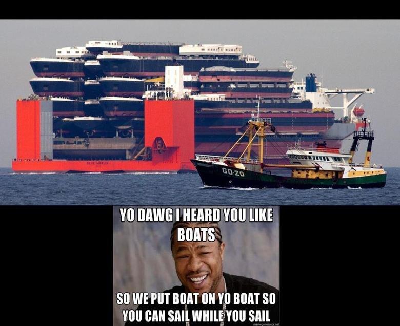 Yo Dawg. .. holy those life boats are huge!!! Yo Dawg holy those life boats are huge!!!