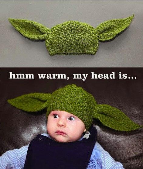 Yoda baby. . Yoda baby