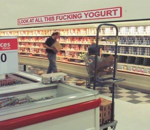 Yogurt FTW. . Yogurt FTW