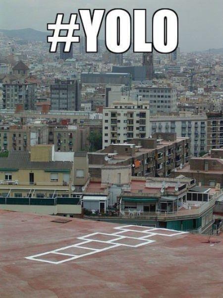 yolo right?. . yolo right?