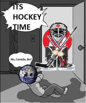 You got HOW many shutouts?. Canada wins at hockey. End.. HOCKEY. Mfw all these Canada posts canada countryball Olympics Hockey win