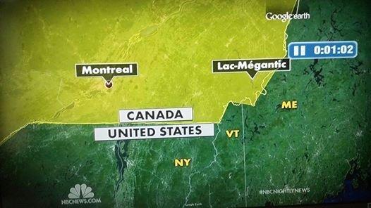 You had one job NBC. I'm not sure where I live anymore. NBC fail