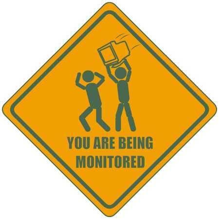 You are being monitored Literaly!. .. HAAAAAAAAAAAAAAAAAAAAAAAAAAX computer screen kill chase lol Signs funny violence