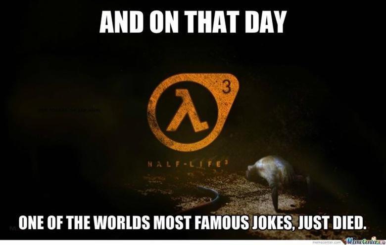 Half Life 3 announced, for real (desc).
