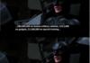 No, I'm the Batman