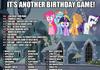 Pony Birthday Game!