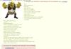 Shrek V: the shreking
