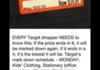 Target shopping advice!!