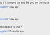 I like youtube comments