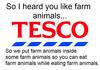 Tesco's horsemeat scandal.
