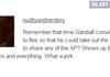 Gandalf the dick wizard