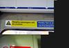 London underground signs found in London