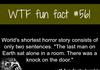 World shortest story