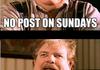 NO POST SUNDAY compilation